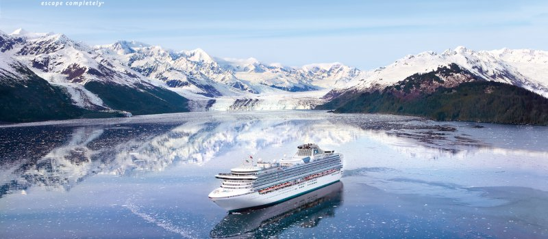 Круизные лайнеры Princess Cruises на Сахалине
