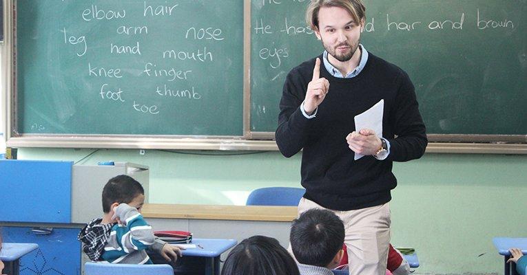 Работа учителем английского языка в Китае