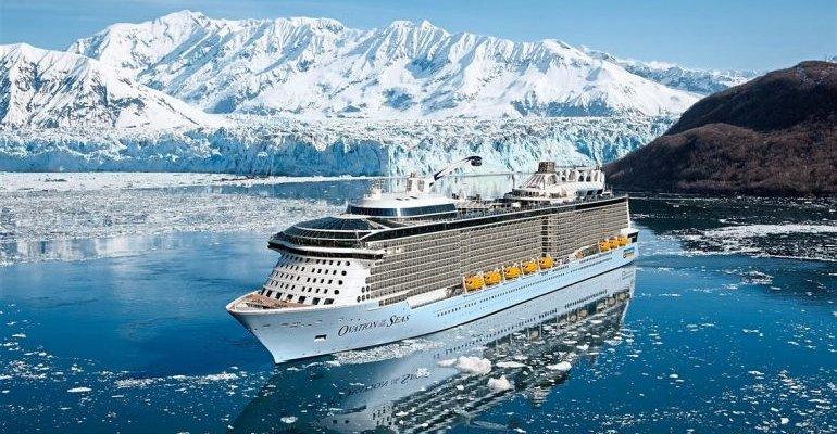 Евгений Горбушкин о трудоустройстве на лайнер Royal Caribbean International