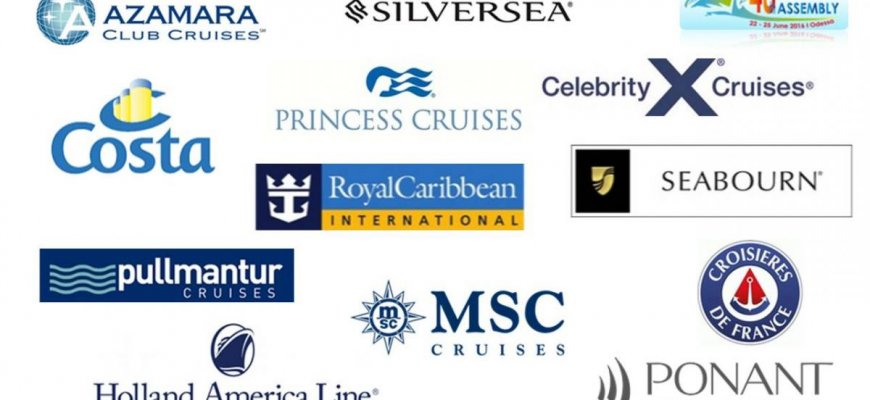 График открытия линий компаний круизных лайнеров